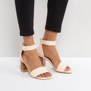 ASOS TREE TOP Heeled Sandals